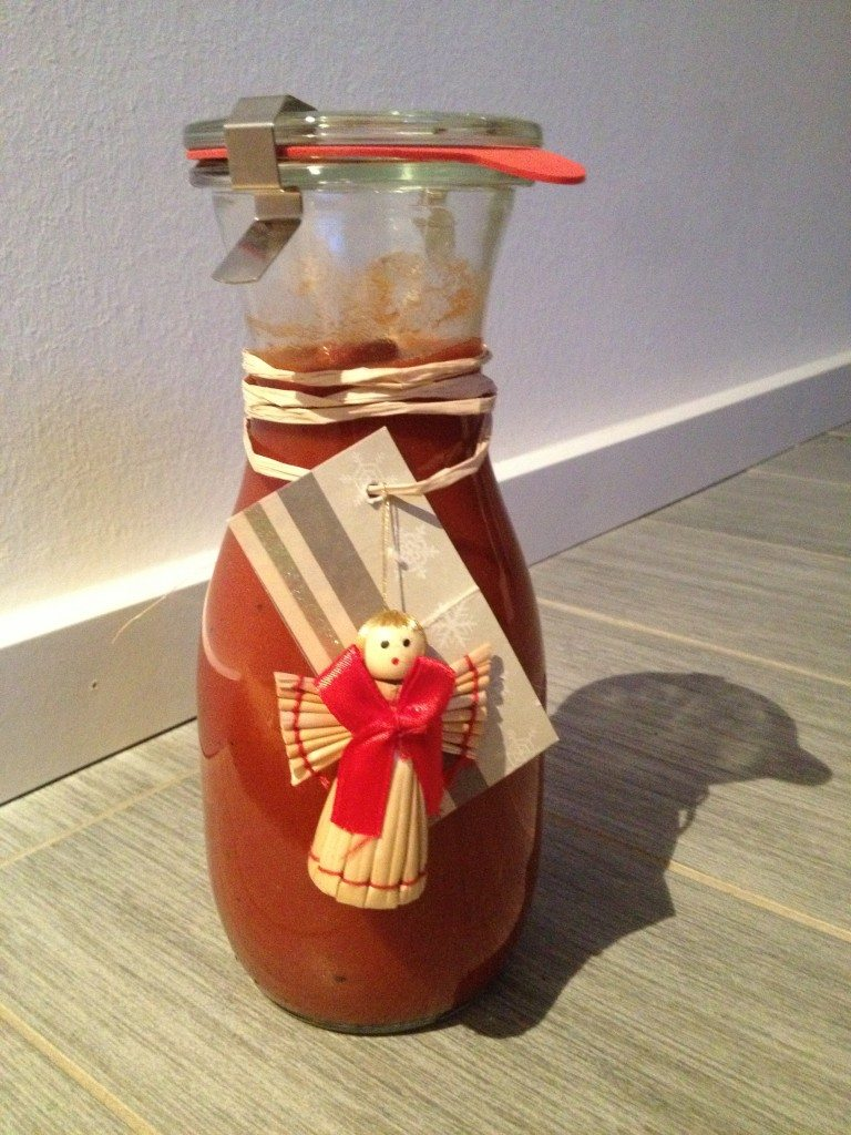 Mango-chilli-Ketchup selbstgemacht