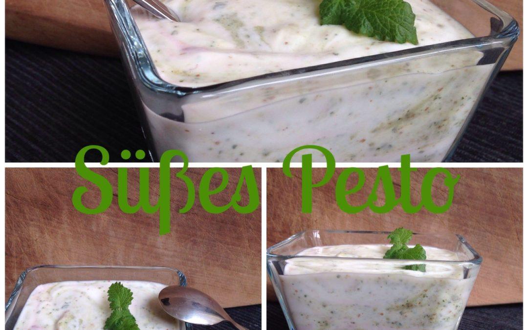 Süßes Pesto (histaminfrei) auf Quark