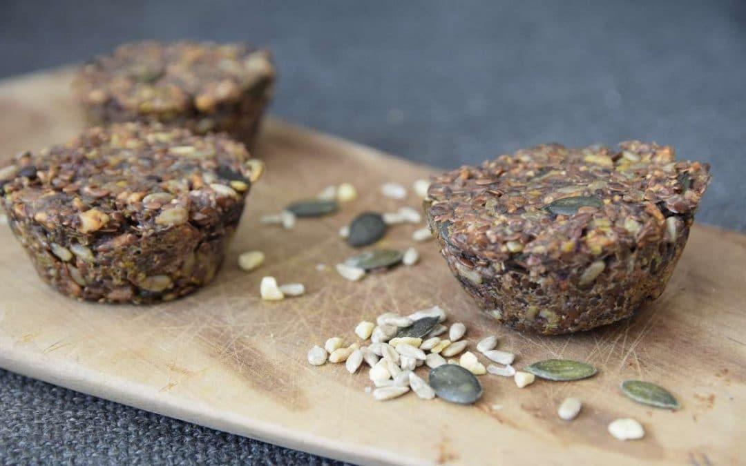 Mehlfreies Superbrot ohne Hefe & ohne Gluten